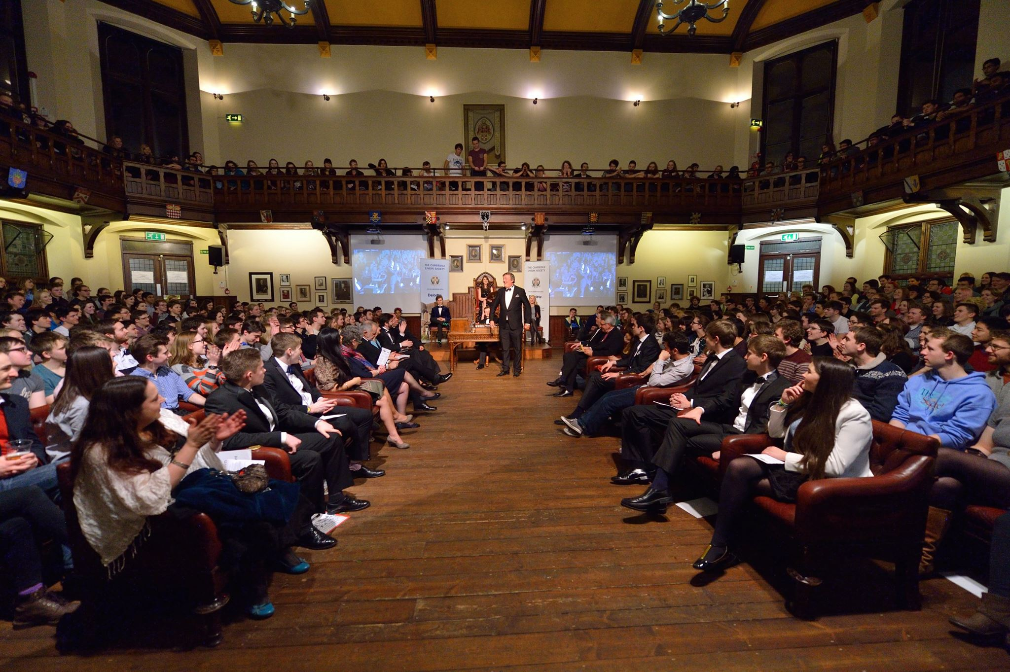 A debate at the Cambridge Union